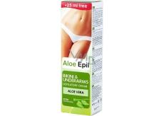 Aloe Epil Bikini & podpazušie depilačný krém pre oblasti podpazušia a bikín 125 ml