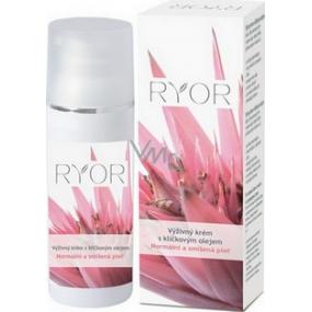 Ryor Klíčkový olej výživný krém s vitamínem A a E 50 ml