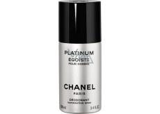 Chanel Egoiste Platinum deodorant sprej pro muže 100 ml