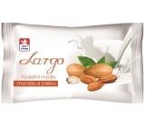 Largo Mandle a mléko toaletní mýdlo 100 g