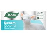Tento Balsam Coconut s kokosovým mliekom parfumovaný 3vrstvový 8 kotúčov