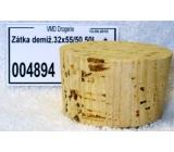 Korková zátka demižonová 32 x 55 / 50 50 l
