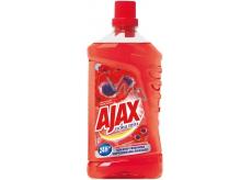Ajax Floral Fiesta Red Flowers univerzálny čistiaci prostriedok 1 l