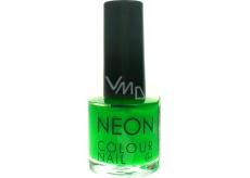 Dor Neon Colour Nail lak na umělé nehty N2 neonová zelená 9 ml