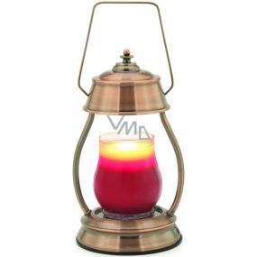 Candle Warmers Hurricane nahrievacie lampáš na sviečky medená 15,5 x 27 x 5 cm