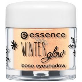 Essence Winter Glow očné tiene 03 Gleaming In The Winter Sun 1,5 g
