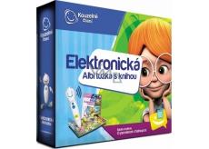 Albi Kúzelné čítanie Ceruzka elektronická + interaktívna hovoriace kniha O perníkovej chalúpke, sada