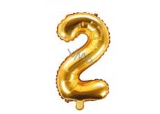 Balónik nafukovacie číslo 2, 35 cm fóliový