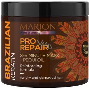 Marion Brazílsky Keratín Pre Repair obnovujúci 3-5 minútová maska pre suché a poškodené vlasy 250 ml