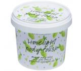 Bomb Cosmetics Kiwi a Limetka - Green Kiwi and Lime sprchový peeling 375 g