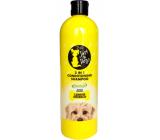 Just 4 Dogs Lemon 2v1 šampón a kondicionér pre psov 500 ml