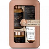 Baylis & Harding Men Zázvor a Limetka šampón na fúzy 100 ml + vosk na fúzy 50 g + balzam na fúzy 30 ml + toaletné mydlo 25 g, kozmetická sada