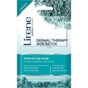 Lirene Dermal Therapy Skin Detox minerální čistící jílová maska 2 x 6 ml