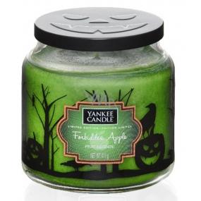 Yankee Candle Halloween Forbidden Apple - Zakázané jablko vonná svíčka Classic střední sklo 411 g