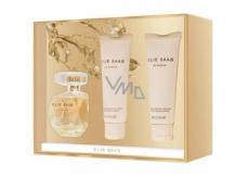Elie Saab Le Parfum parfumovaná voda pre ženy 50 ml + sprchový gel 75 ml + telové mlieko 75 ml, darčeková sada