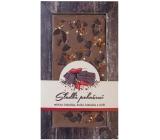 Bohemia Gifts & Cosmetics Sladké pokušení Chilli Ručně vyráběná mléčná, kořká čokoláda 80 g