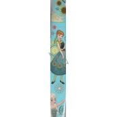 Disney Frozen Baliaci papier Svetlo modrý, veľké obrázky 70 x 200 cm