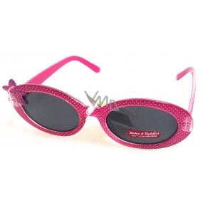 Dudes & Dudettes Sluneční brýle pro děti růžové DD16005