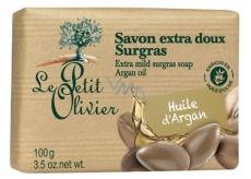 Le Petit Olivier Arganový olej extra jemné mýdlo s přírodními extrakty 100 g
