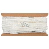 Povrázok papierový biely 30 m
