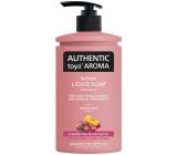 Authentic Toya Aróma Cranberries & Nectarine tekuté mydlo dávkovač 400 ml
