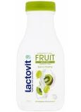 Lactovit Fruit Antiox Pružnosť a starostlivosť kivi a hrozno sprchový gél pre normálnu až suchú pleť 300 ml