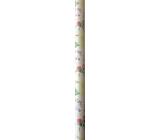 Nekupto Darčekový baliaci papier 70 x 150 cm Lúčne kvety