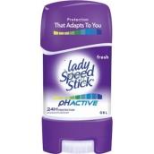 Lady Speed Stick pH Active Fresh antiperspirant deodorant gel stick pro ženy 65 g