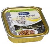 Dr. Clauders Hydinové kúsky - 3 druhy mäsa v omáčke 100 g