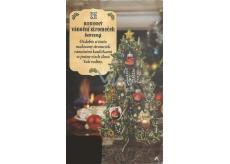 Albi Rodinný vánoční stromeček s barevným potiskem