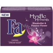 Fa Mystic Moments Sheabutter & Passion Flower krémové toaletní mýdlo 90 g