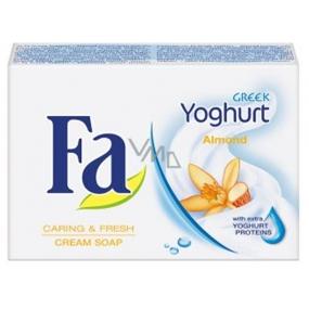 Fa Greek Yoghurt Almond toaletné mydlo 90 g