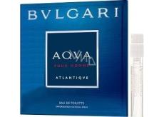 Bvlgari Aqva pour Homme Atlantiqve toaletní voda pro muže 1,5 ml s rozprašovačem, Vialka