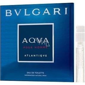 Bvlgari Aqva pour Homme Atlantiqve toaletná voda pre mužov 1,5 ml s rozprašovačom, vialka