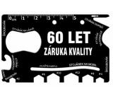 Albi Multináradie do peňaženky 60 Let záruka kvality 8,5 cm × 5,3 cm × 0,2 cm