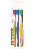 Elmex Swiss Made Ultra Soft ultra mäkká zubná kefka 3 kusy