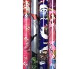 Disney Princess Vianočný baliaci papier pre deti ružový Šípková Ruženka 2 mx 70 cm