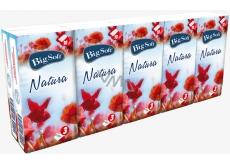 Big Soft Natura papírové kapesníky 10 x 10 kusů