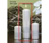 Lima Stuha sviečka biela valec 60 x 220 mm 1 kus