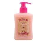 Bohemia Gifts & Cosmetics Rosarium s extrakty z šípků a květů růže tekuté mýdlo 300 ml s pumpičkou
