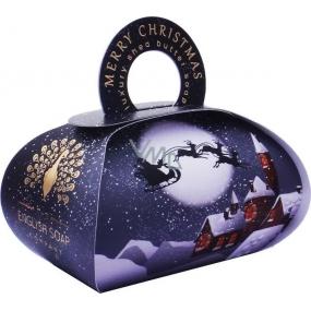 English Soap Veselé Vianoce Zimné prírodné parfumované mydlo s bambuckým maslom 260 g