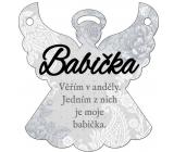 Albi Závesná plaketka anjel Babička 9 x 10 cm