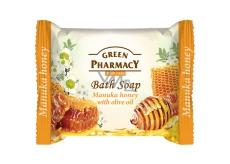 Green Pharmacy Manuka a Med a Olivový olej toaletné mydlo 100 g