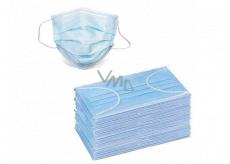 3 vrstvová Premium netkaná jednorazová lekárska ochranná rúška nízky dýchací odpor 50 kusov