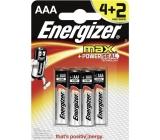 Energizer Ultra + batérie AAA LR03 1,5V 6 kusov
