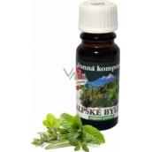 Slow-Natur Alpské byliny Vonný olej 10 ml
