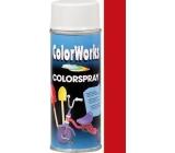 Color Works Colorspray 918506 karmínově červený alkydový lak 400 ml