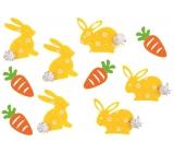 Zajace a mrkvy s Lepik 4 cm, 10 kusov v sáčku