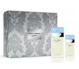 Dolce & Gabbana Light Blue toaletná voda pre ženy 100 ml + toaletná voda 25 ml, darčeková sada