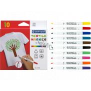 Centropen Textile Marker značkovače (fixky) na textil 10 kusov